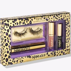 Maneater makeover lash and lip set